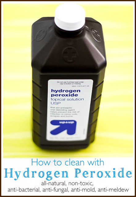 What a fantastic product ~ Hydrogen Peroxide!