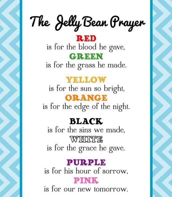 The Jelly Bean Prayer